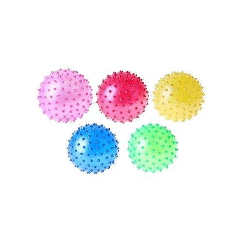 Мяч массажный МВ-12см желтый синий