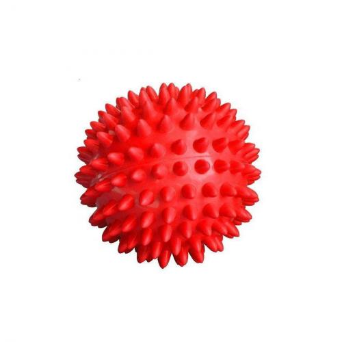 Мяч массажный 7 см 90 г красный