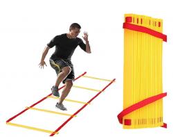 Лестница координационная арт 1004 8м 16 ступ