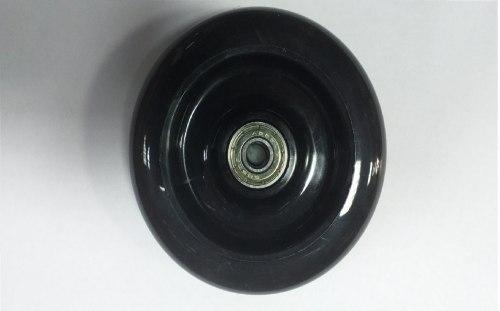 Колесо для самоката д 100м черное