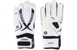 Перчатки вратарские Jogel ONE Wizard CL3 Flat JGL-18474-WH белые р 8 9 10