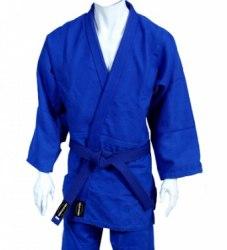 Кимоно дзюдо синее Vimpex Sport JD-6061 Junior120