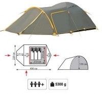Туристическая палатка Tramp Grot