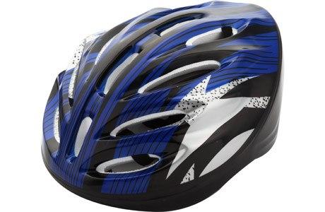Шлем защитный Fora LF-0248-BL синий красный
