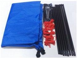 Тент BTrace со стойками 4,40 x 4,40 синий