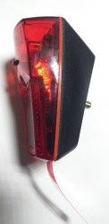 Фонарь велосипедный задний XC781A