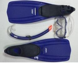 Комплект для плавания ласты маска трубка speed-x Md 38-39