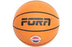 Мяч баскетбольный №3 Fora BR7700-3 оранжевый