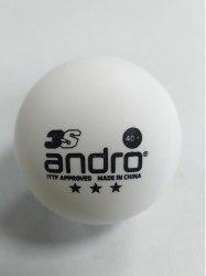 Мяч для настольного тенниса Andro Speedball 3зв. 3S 40+