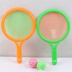 Набор игровой детский теннис 2 ракетки с 2 мячиками в сетке 26х16х1см арт. 2806-2