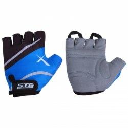 Перчатки летние синие Х61876