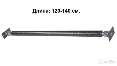 Турник в проем (резьбовой) 120-140см