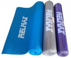 Коврик Yoga mat 173*61*0,6 см (в чехле) серый