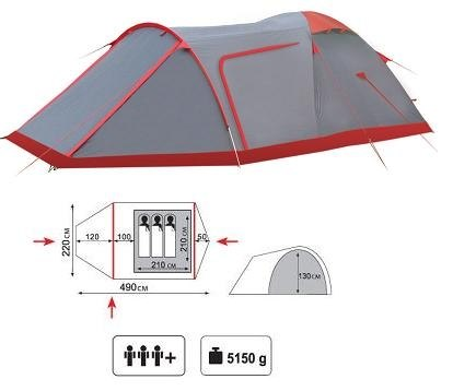 Палатка Tramp Cave