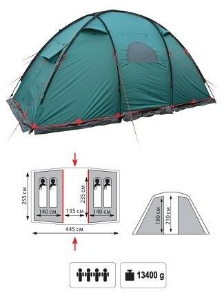 Палатка Tramp Eagle