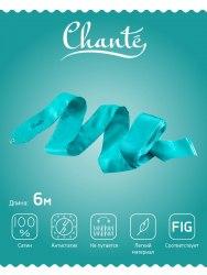 Лента для художественной гимнастики Chanté Voyage, 6 м, фиолетовая красный синий