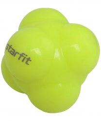Мяч реакционный Starfit RB-301, ярко-зеленый