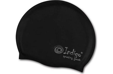 Шапочка для плавания INDIGO (102SC-BK)
