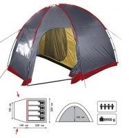 Палатка Tramp Bell 4 XP