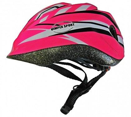 Шлем детский (для велосипеда, роликов) Vimpex Sport PW-912-568