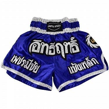 Шорты тайские (муай-тай) Vimpex Sport Синие 4158