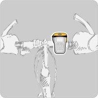 Велосипедный адаптор Boxit для чехла с мобильным телефоном