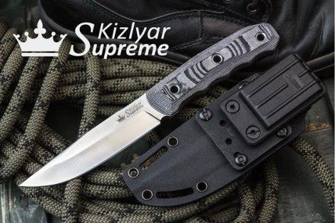 Ножи Kizlyar Supreme от официального представителя. Доставка в Могилев под заказ