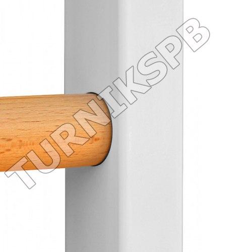 Комбинированная шведская стенка с турником + стойка под штангу