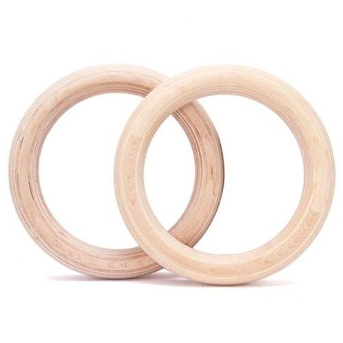 Кольца гимнастические детские (деревянные)