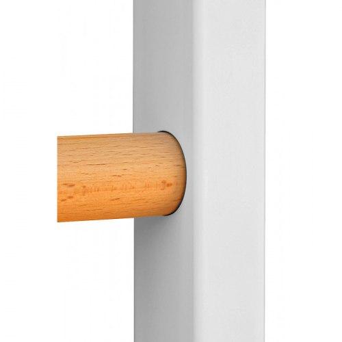 Комбинированная шведская стенка белая ПРОФ-KG 1