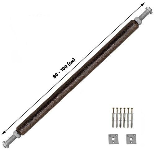 Турник в проем с ручками 100 (см)