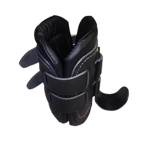 Гравитационные ботинки с кожаными накладками