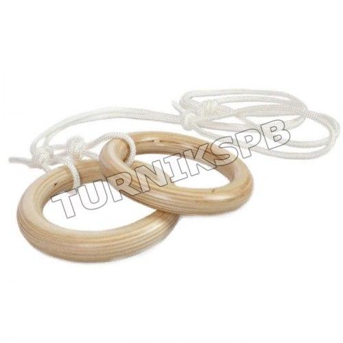 Кольца гимнастические (деревянные)