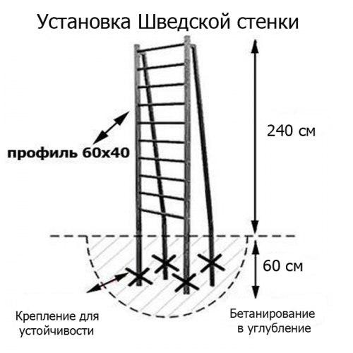 Уличный спортивный комплекс + турник ДСК + брусья-пресс (USK-029)