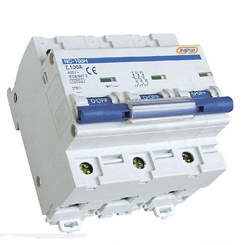 Автоматический выключатель Энергия NC100H (ВА47-100) 3P 80A