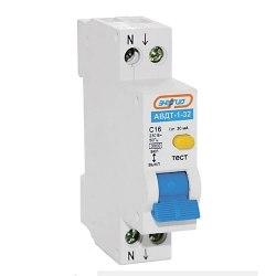Диф. Автомат Энергия АВДТ-1-32 2Р 20А 30 mA 1-но модульный