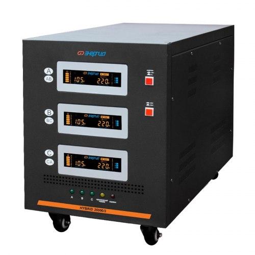 Трехфазный стабилизатор напряжения Энергия Hybrid 2 поколение 30000/3