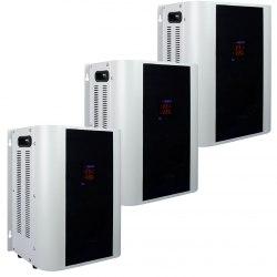 Трёхфазный стабилизатор напряжения Энергия Hybrid-15000/3 навесной модульный 1-ф нагрузка