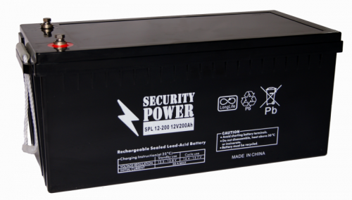 Аккумуляторные батареи для ИБП Security Power SPL 12-200