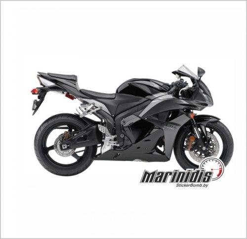 "Комплект мото наклеек ""Honda CBR 600 RR"" модель 2009"
