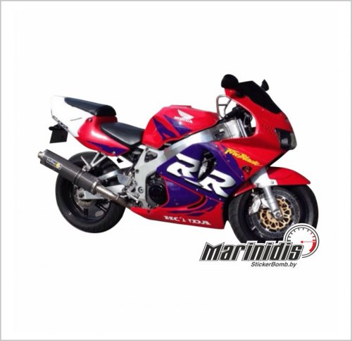 "Комплект мото наклеек ""Honda CBR 900 RR Fireblade"" модель 1998"