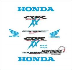 "Комплект мото наклеек ""Honda CBR 1100 XX Blackbird"" модель 1997"