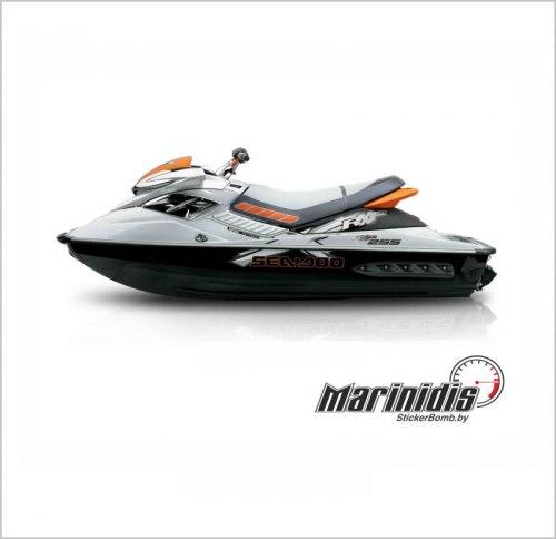 "Комплект наклеек для гидроцикла ""Sea-Doo RXP-X 255"" модель 2008-2009"