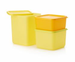 "Набор контейнеров ""Кубикс"" (650 мл/1 л/1,8 л) Tupperware"