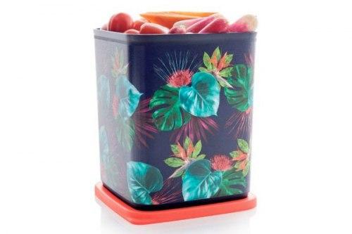 "Контейнер ""Кубикс ""Райский сад"" (1,8 л) Tupperware"