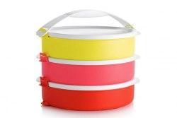 """Набор контейнеров """"Парад"""" (880 мл) круглые, 3 шт. Tupperware"""