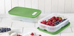 """Контейнер """"Умный холодильник"""" (1,8 л) низкий, 2 шт. Tupperware"""