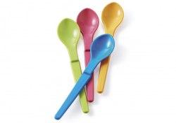 Ложечки в ярких цветах, 4 шт. Tupperware