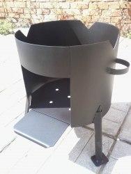 Печь для казана разборная (сталь 2 мм)
