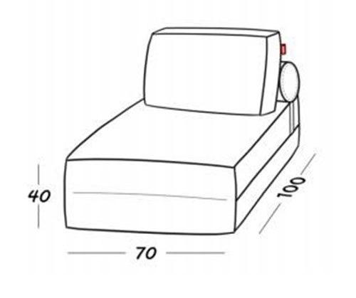 Кресло-кровать Costa Gold